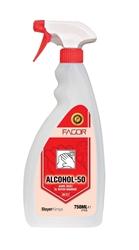 Resim FAGOR ALCOHOL 50 / 750 ML  ALKOL BAZLI  EL TEMİZLEME MADDESİ